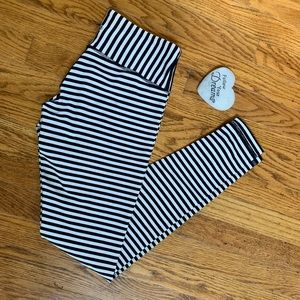 Lululemon Wunder Under Striped FullLength Leggings